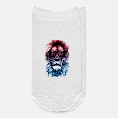 Hipster Hipster lion - Ankle Socks