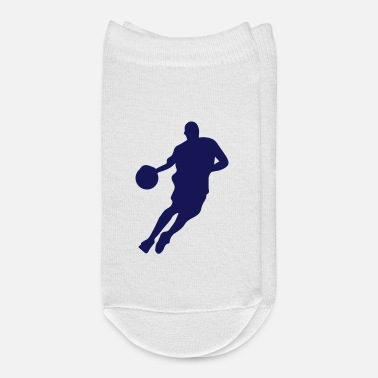 Silhouette Basketball Player Silhouette - Ankle Socks