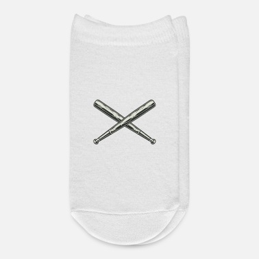 Baseball Baseball bat baseball - Ankle Socks