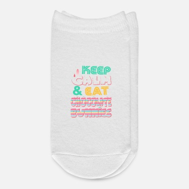 Easter Bunny Keep Calm & Eat Chocolate Bunnies Easter - Ankle Socks