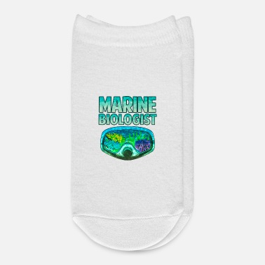 Biology Awesome Marine Biologist Underwater Biology - Ankle Socks