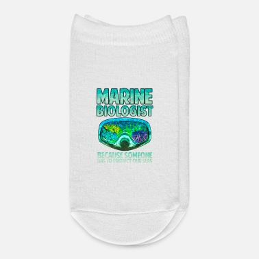 Marine Marine Biologist: Someone Has To Protect Our Seas - Ankle Socks