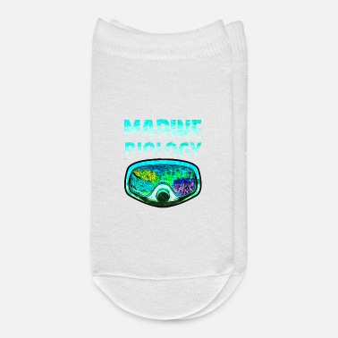 Biology Awesome Marine Biology Underwater Biologist - Ankle Socks