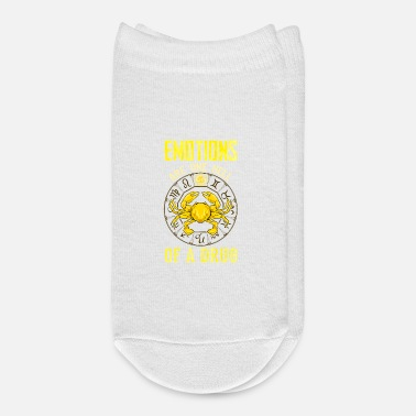 Emotion Emotions Are One Hell of a Drug Zodiac Crab Cancer - Ankle Socks
