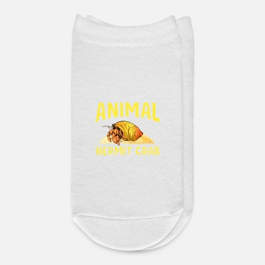 Crab Cute & Funny My Spirit Animal Is a Hermit Crab - Ankle Socks