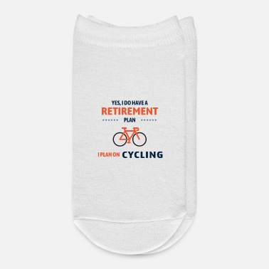 Cyclist Cycling, Cyclist, Retirement Plan - Ankle Socks