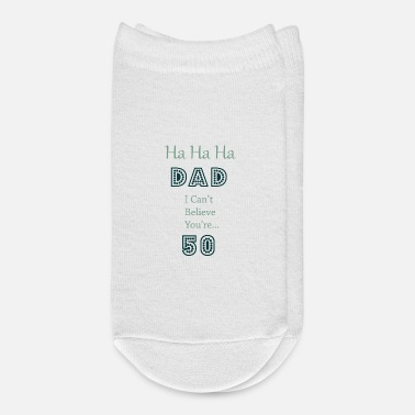 Funny 50th Birthday 1970 50th Birthday Gift for Dad - Ankle Socks