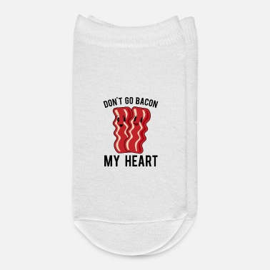 Ham Bacon Lover Heart Valentines Day - Ankle Socks