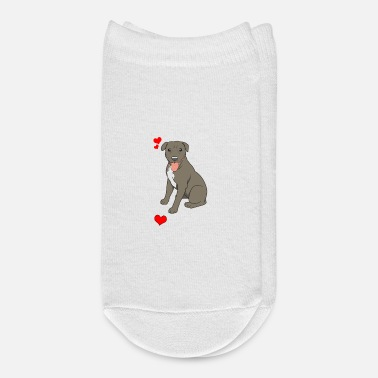 Bull I Love My Pitbull Gift Pit Bull Lover Print - Ankle Socks