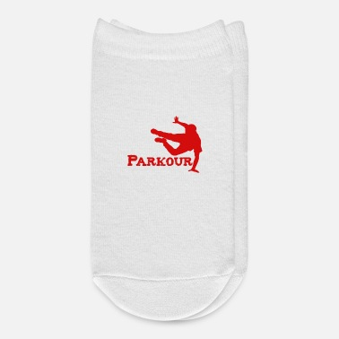 Free Running Awesome Retro Parkour Gift Design Freerunning - Ankle Socks