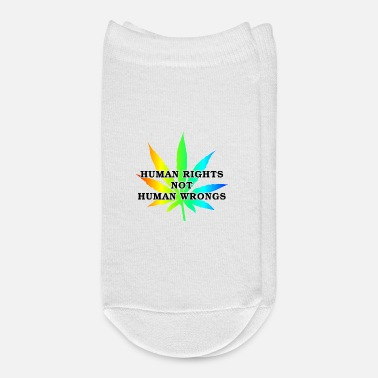 Human Rights Marijuana Human Rights - Ankle Socks