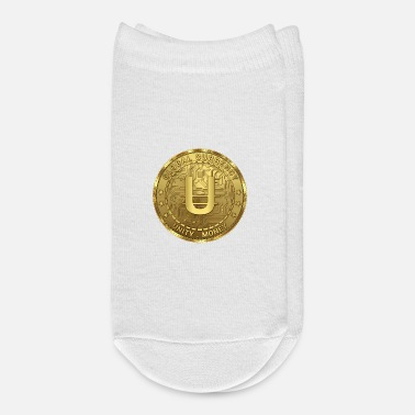 Global Unity Money - Global Cryptocurrecy - Ankle Socks