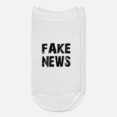Fake FAKE NEWS, fake news shirt - Ankle Socks