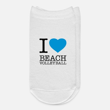 Beach Volleyball I LOVE BEACH VOLLEYBALL - Ankle Socks