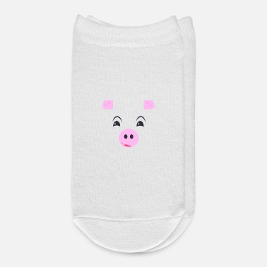 Emotion Emotion cute piggy - Ankle Socks