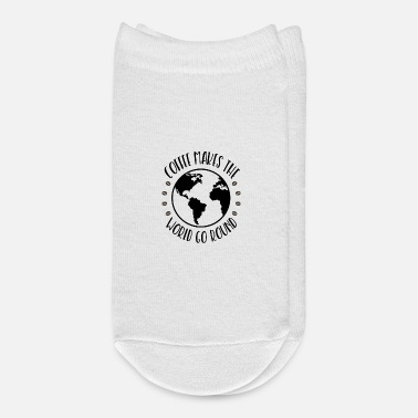 Roast Coffee World Espresso Earth Roasted Beans Gift - Ankle Socks