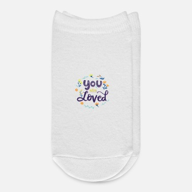 Love You You are loved - Ankle Socks
