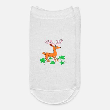 Teen Cute deer Great shirt for all kids and teens - Ankle Socks