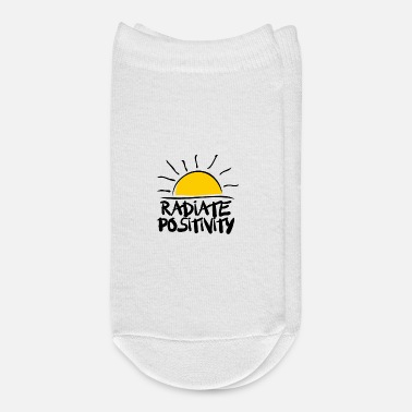 Positive Radiate Positivity - Ankle Socks