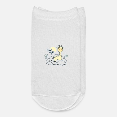Sit Cute Giraffe Sitting On The Clouds - Ankle Socks