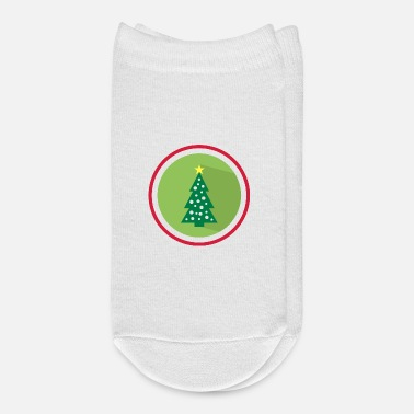 Ugly Christmas Christmas tree gift idea Christmas - Ankle Socks
