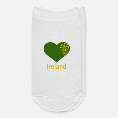 Ireland Heart Ireland, love Ireland, countries - Ankle Socks