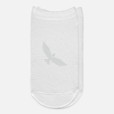 Silver Flying Silver Eagle - Ankle Socks