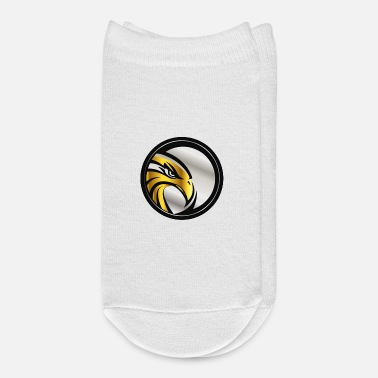 Emblem Gold and Silver Hawk Emblem - Ankle Socks
