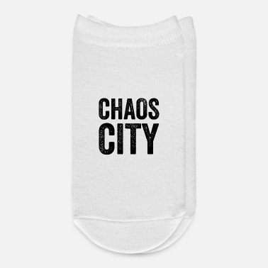 City chaos city - Ankle Socks