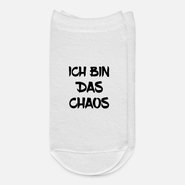 Chaos I am chaos - Ankle Socks