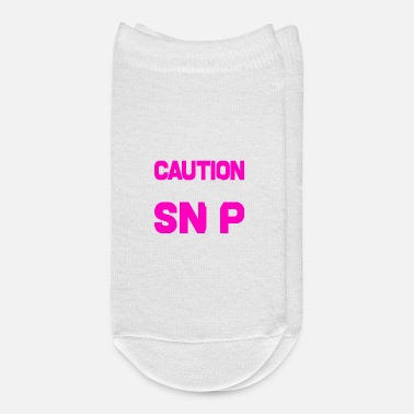 Known Caution Known To Snip Hair Hairdresser Quote Gift - Ankle Socks
