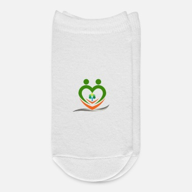 Save Save tree save heart - Ankle Socks