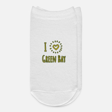 Green Bay I Love Green Bay Wisconsin Shirts Gifts - Ankle Socks
