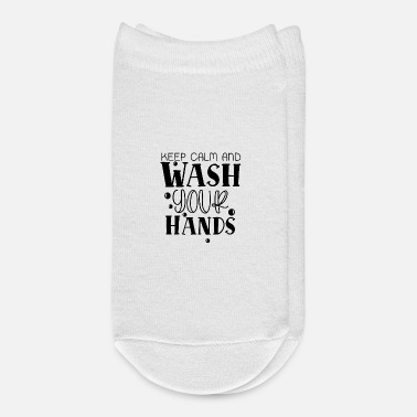 Dawoud Keep Calm and Wash Your Hands - Ankle Socks