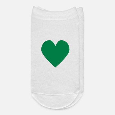 Series 1.0: Heart (green) - Ankle Socks