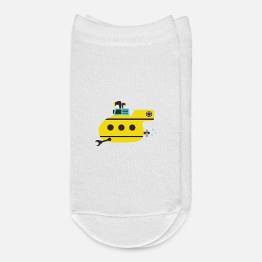 Under Water Submarine, under water - Ankle Socks
