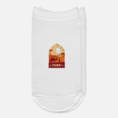 Arabia Dubai Vintage Camel Design / Gift Idea - Ankle Socks
