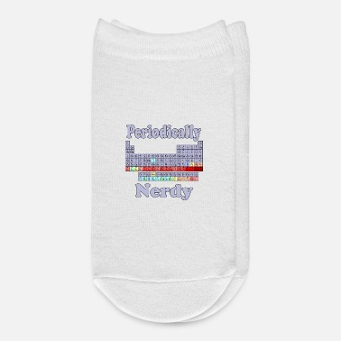Periodic Table Periodically Nerdy Periodic Table Science Nerds - Ankle Socks