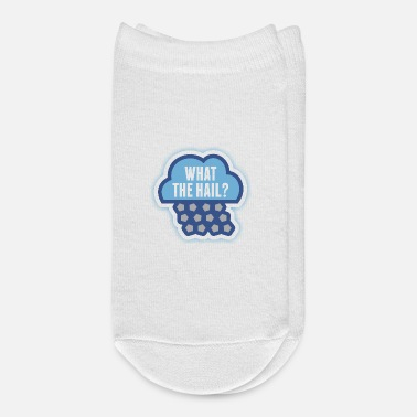 What The Hail Meteorology Tshirt - Ankle Socks