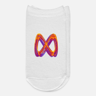 Geometry eight infinite symbol period roller coaster 12404 - Ankle Socks