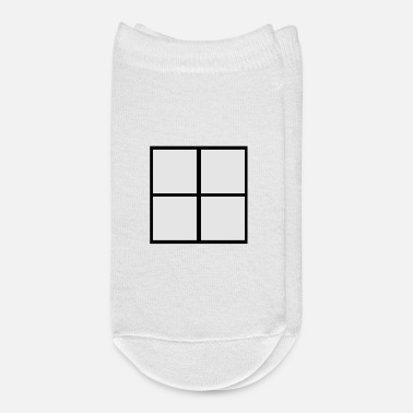 Windows Window - Ankle Socks