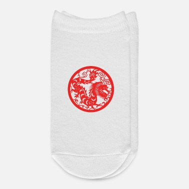 Chinese New Years - Zodiac - Year of the Dragon - Ankle Socks