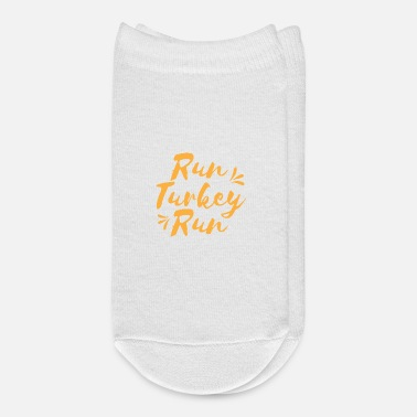 Running Run Turkey Run - Ankle Socks