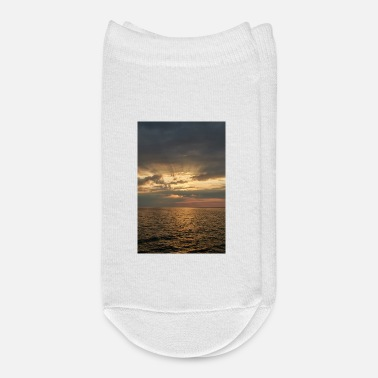 Baltic Sea bright sunset on the Baltic Sea coast - Ankle Socks