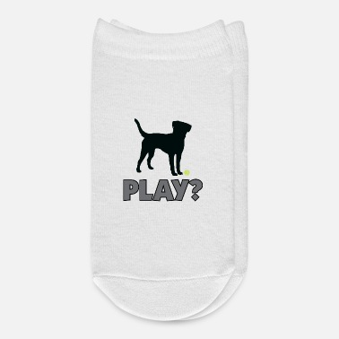 Golden Retriever Tennis Ball Pup Play Puppy Play - Ankle Socks