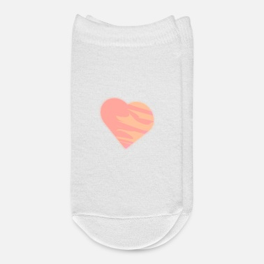 Abstract abstract heart - Ankle Socks