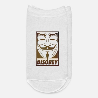 Anonyous Disobey - Ankle Socks