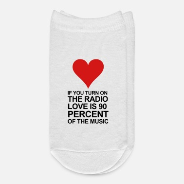 Radio Love if you turn on the radio - Ankle Socks