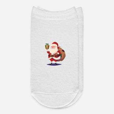 Present Santa Claus carrying gifts and presents - Ankle Socks