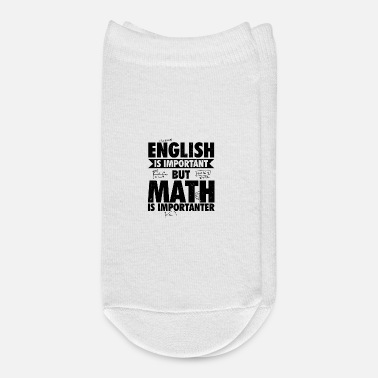 Mathematics Mathematics Teacher | Mathematics Gifts - Ankle Socks
